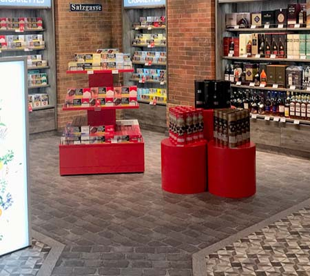 1-Dresden Airport - Duty free shop