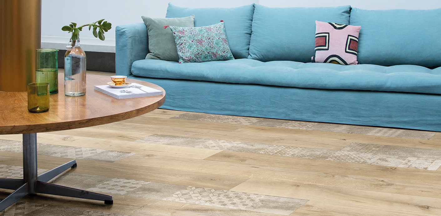Skyline, large tiles & long planks | Beauflor®, vinyl flooring